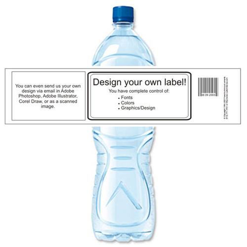[Y00] Generic Wrap Around Label weatherproof water bottle label