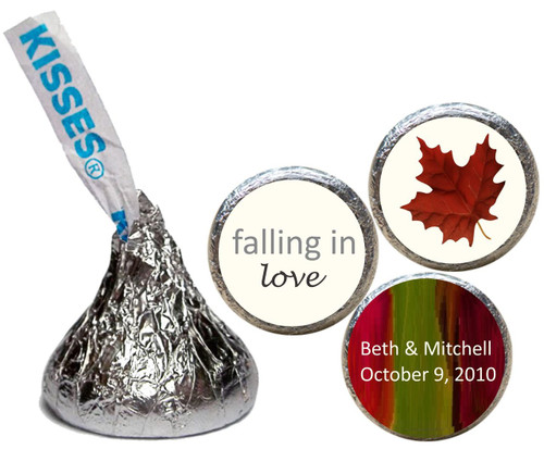 [KW07] Falling in Love Wedding Sticker - Candy Kiss