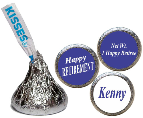 [KT05] Happy Retirement Stickers - with kiss
