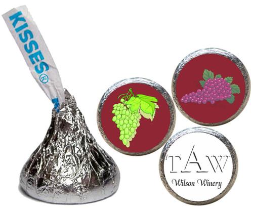 [KU03] Winery Stickers - with candy kiss