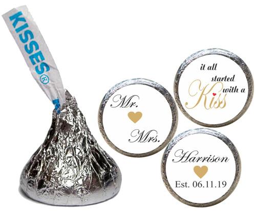[KW31] SWAK Wedding Sticker - Candy Kiss