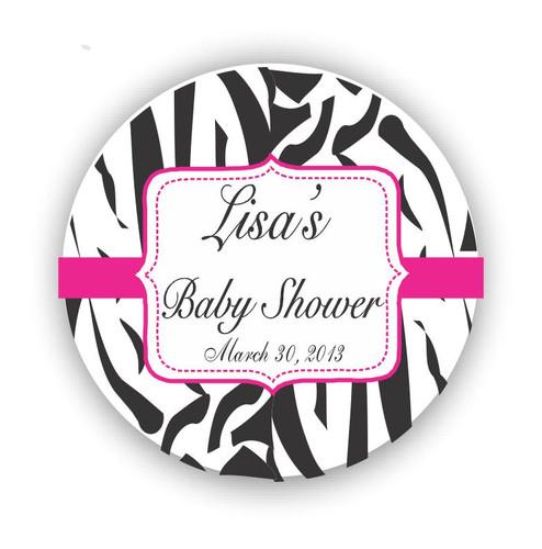 [RS01] Zebra Theme Baby Shower