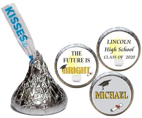 [KG29] Bright Future Graduation Stickers - with kiss