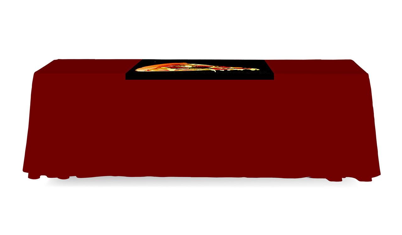 Table Runner 3 Ft. Backless Dye Sub Print Back