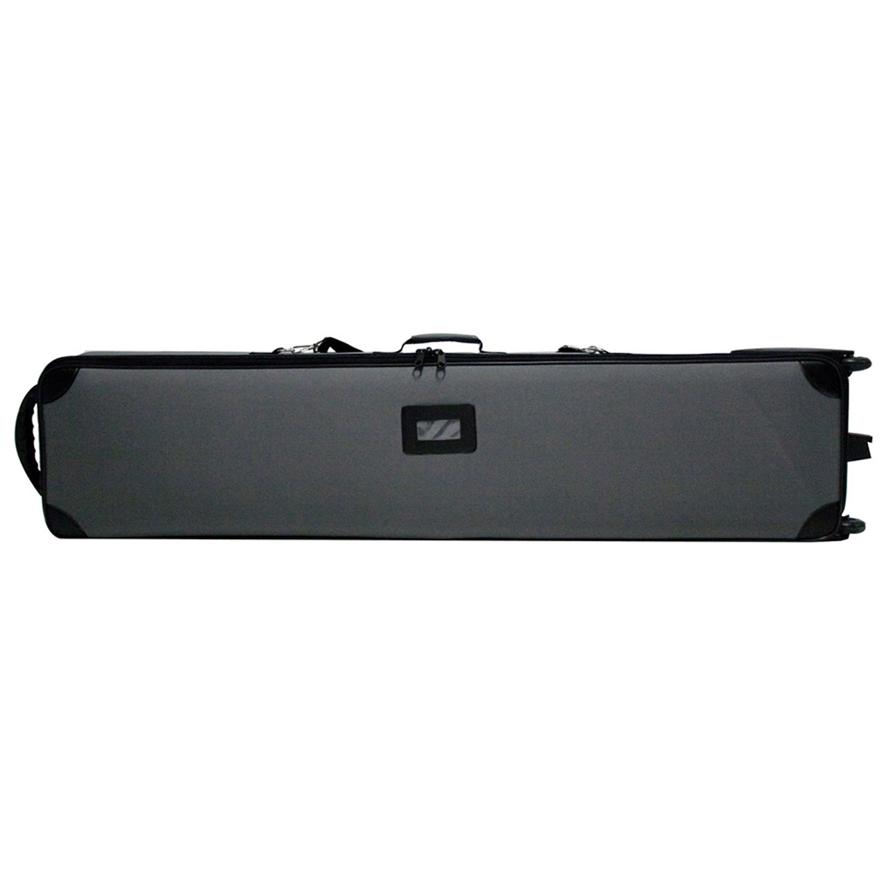 Comes standard with display unless you upgrade to medium hard case