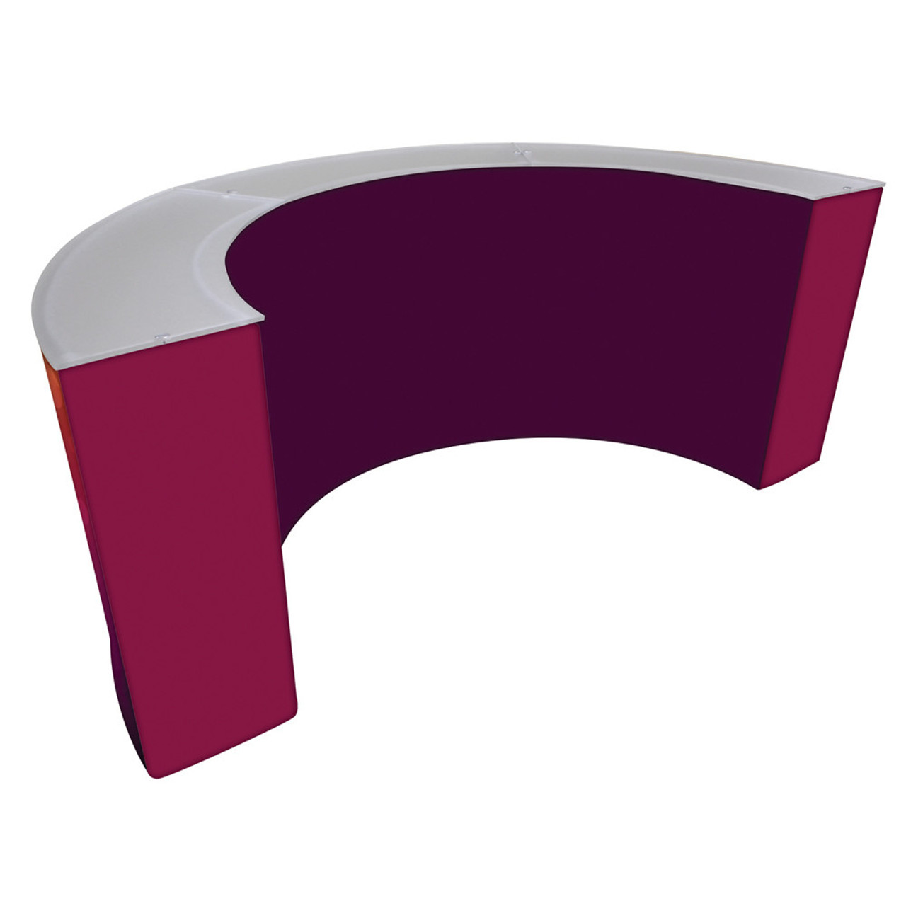 Curved Counter (Triple)