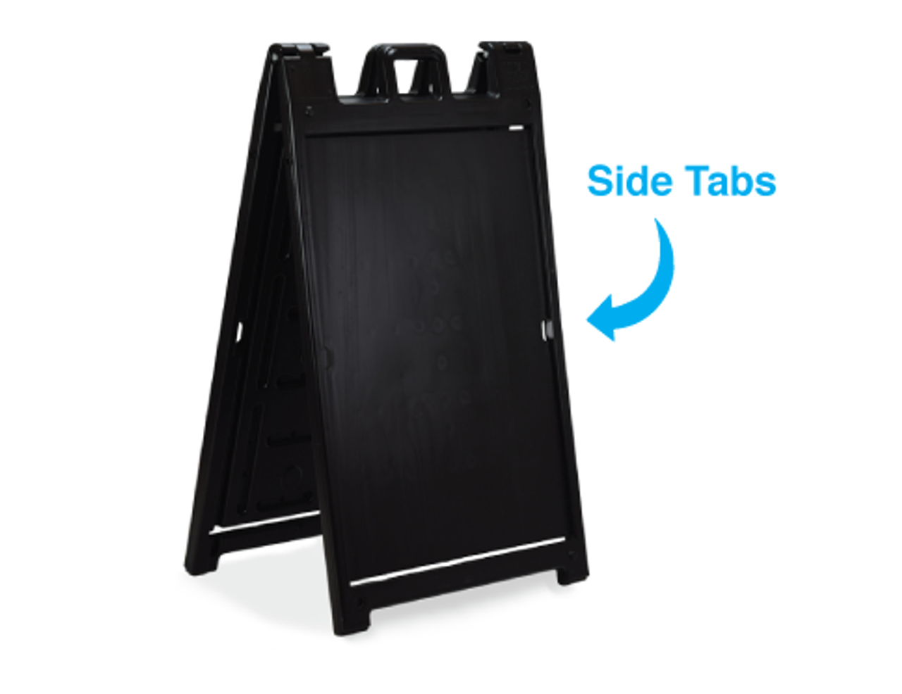 Frame only with clip tabs to hold printed insert