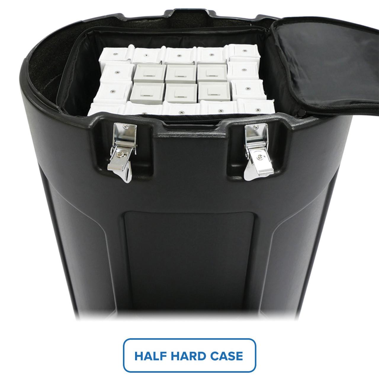 Inside view of Half Hard Case