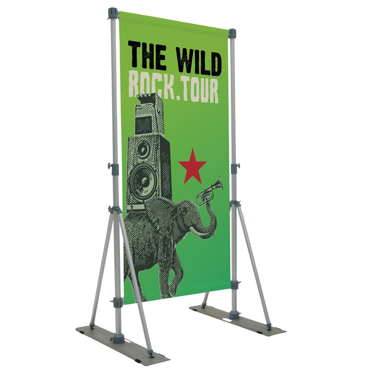 Performer Banner Display Kit Single-Sided