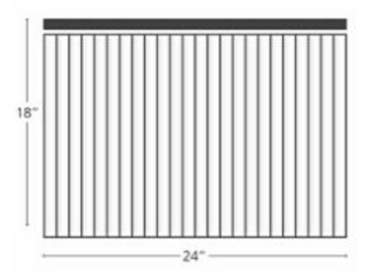 Box of 100 blank coro sheets 24 x 18