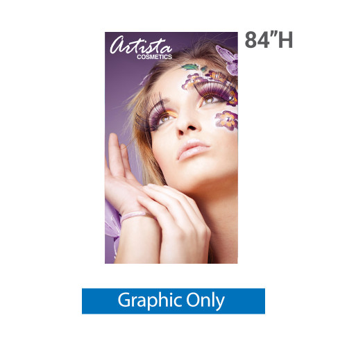 48 inch x 84 inch silverstep replacement printed banner graphic