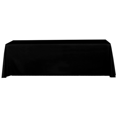 black stock table throw
