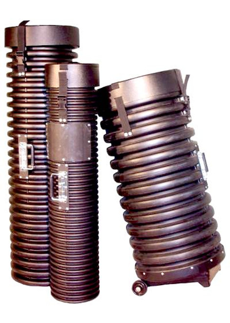 Tank Tube available in 8 inch, 12 inch or 15 inch diameter. Variable lengths available.