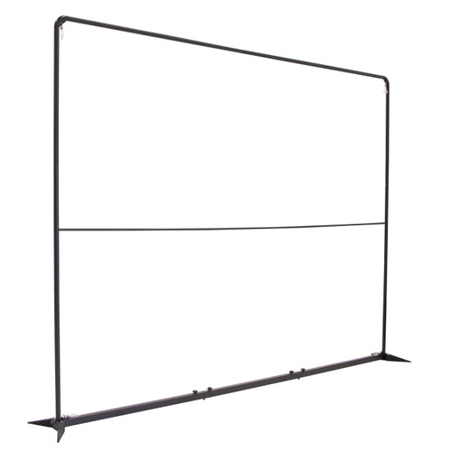 10.5 ft W x 7.5 ft H FrameWorx Banner Display Unit Angle shot
