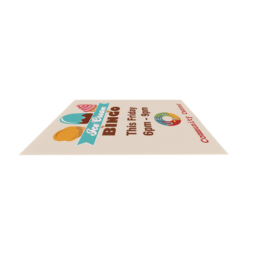 Super strong Angle Iron Frame Replacement Signboard Single-Sided 24 x 36