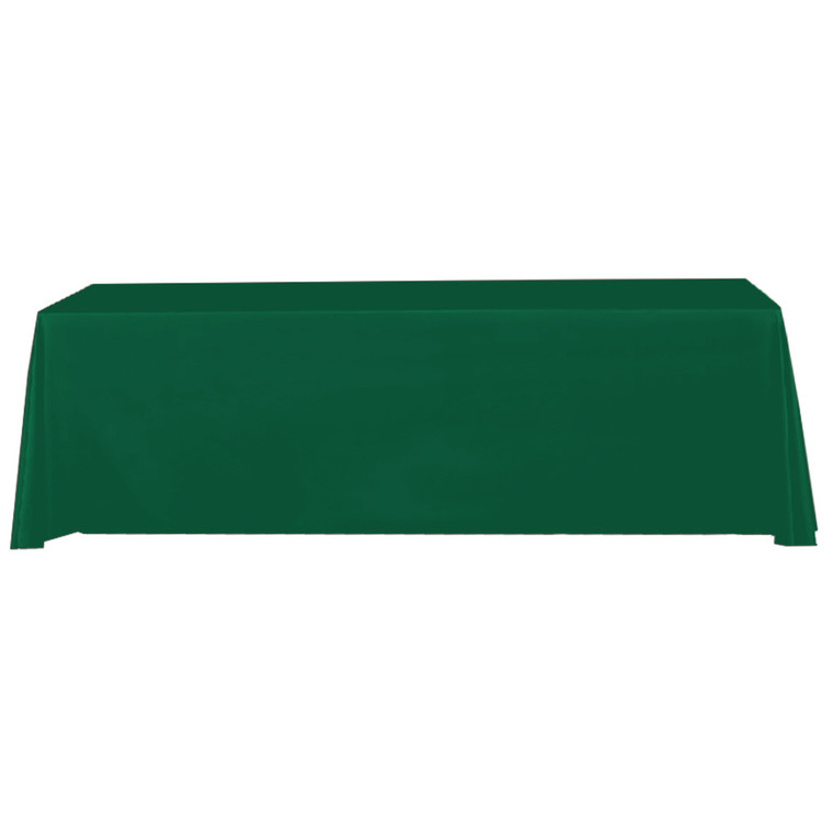 hunter-green-8-ft-table-throw-solid