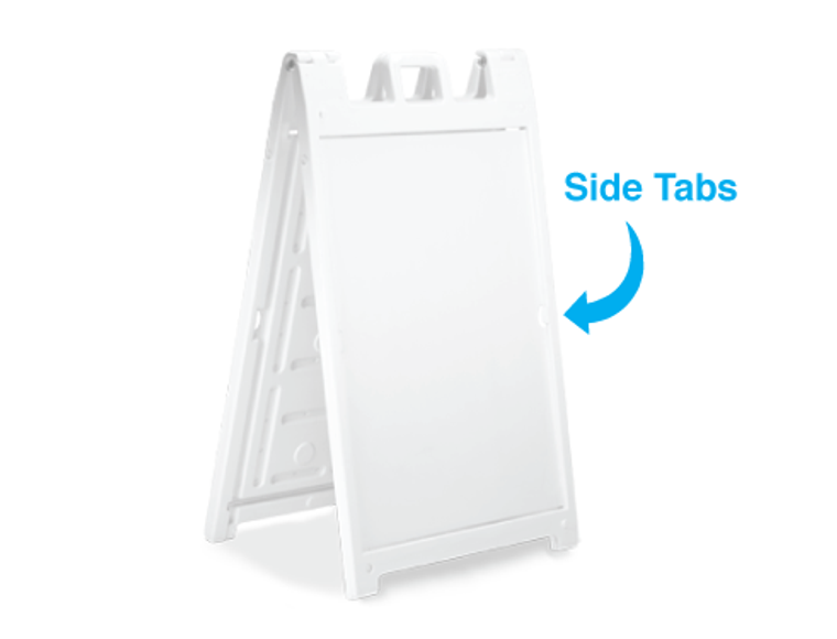 Frame only. This shows the tab that holds the printed boards in place