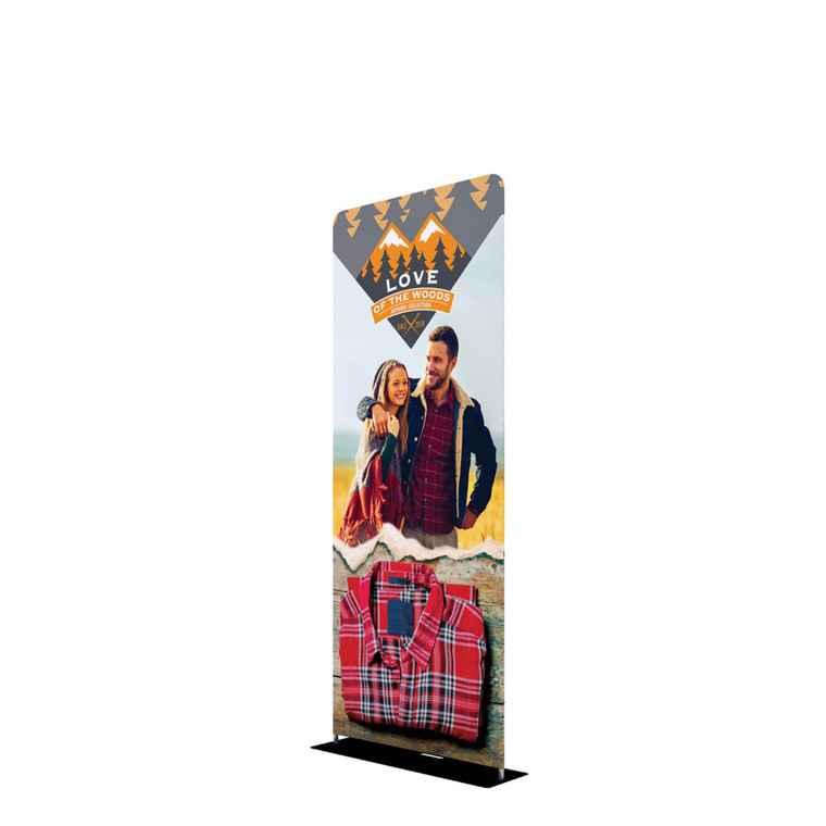 EZ Extend 3 ft wide fabric tube display