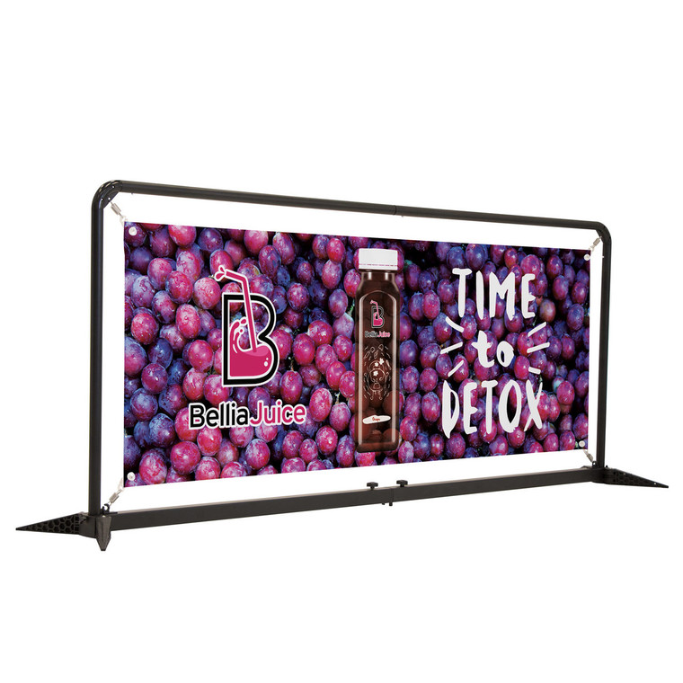 7' FrameWorx Barrier Kit Single Sided Graphic