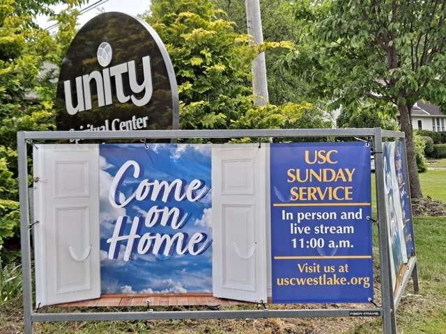 Outdoor In Ground Banner Frame come-on-home-sign.jpeg