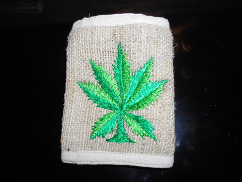 Hemp Leaf  Wallets .