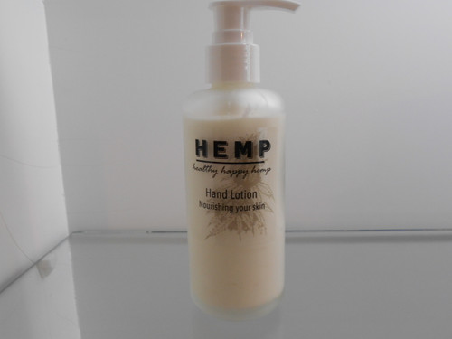 Hemp Hand Lotion  pump bottle  120g
