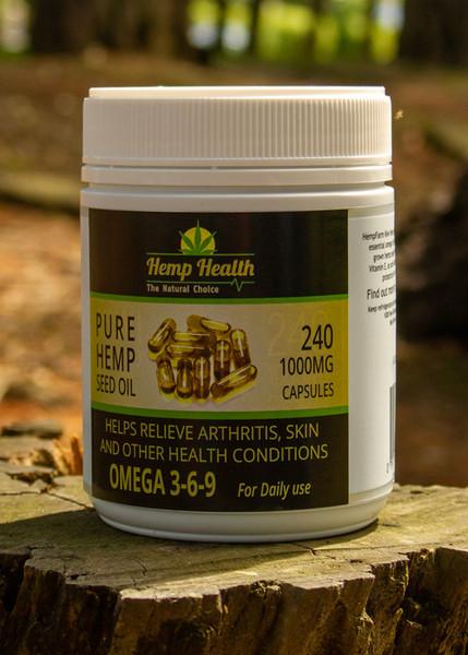 Hemp Seed Oil Capsules 240