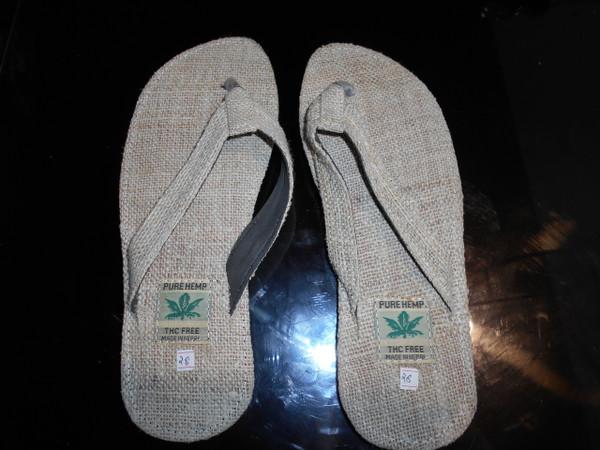 Hemp Small Sized  Sandals .