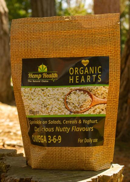 Organic Hemp Hearts 500g