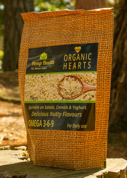 Organic Hemp Hearts 250g