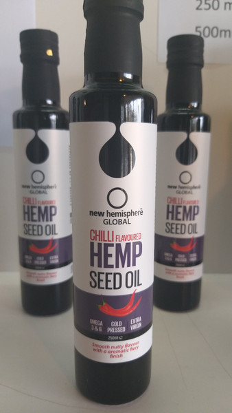 Hemp Seed Oil ,  Chilli  Flavoured
