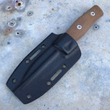 GSO-3.5, with black Kydex sheath and natural canvas handles