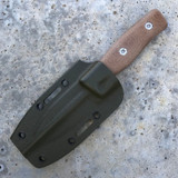 GSO-3.5, with OD green kydex sheath and natural canvas handles