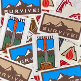 SURVIVE! Stickers
