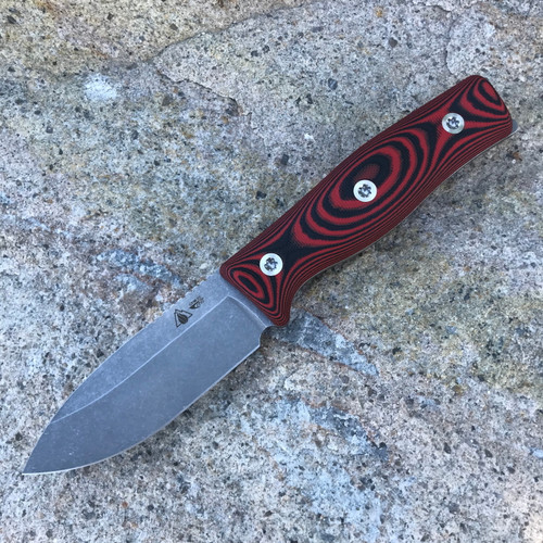 GSO-3.5, with red and black G10 handles