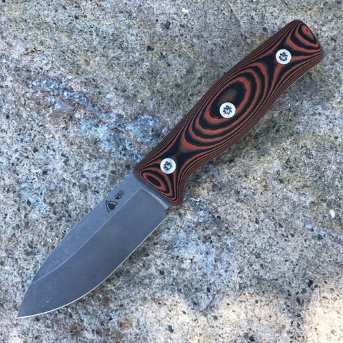GSO-3.5, with orange and black G10 handles