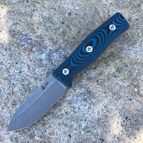 GSO-3.5, with blue and black G10 handles