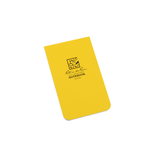 Front of Yellow Notebook
