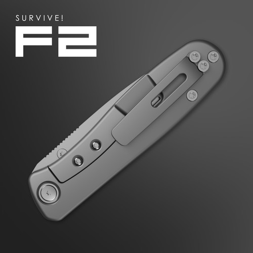 SURVIVE! F2 with precision machined clip option