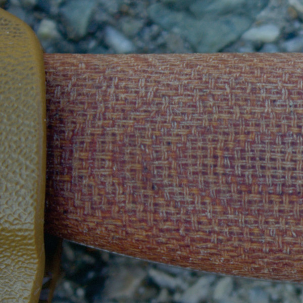 Natural Canvas handles. *Please note that the natural canvas material comes in various shades of brown. We do not have control over the color of the final product.*