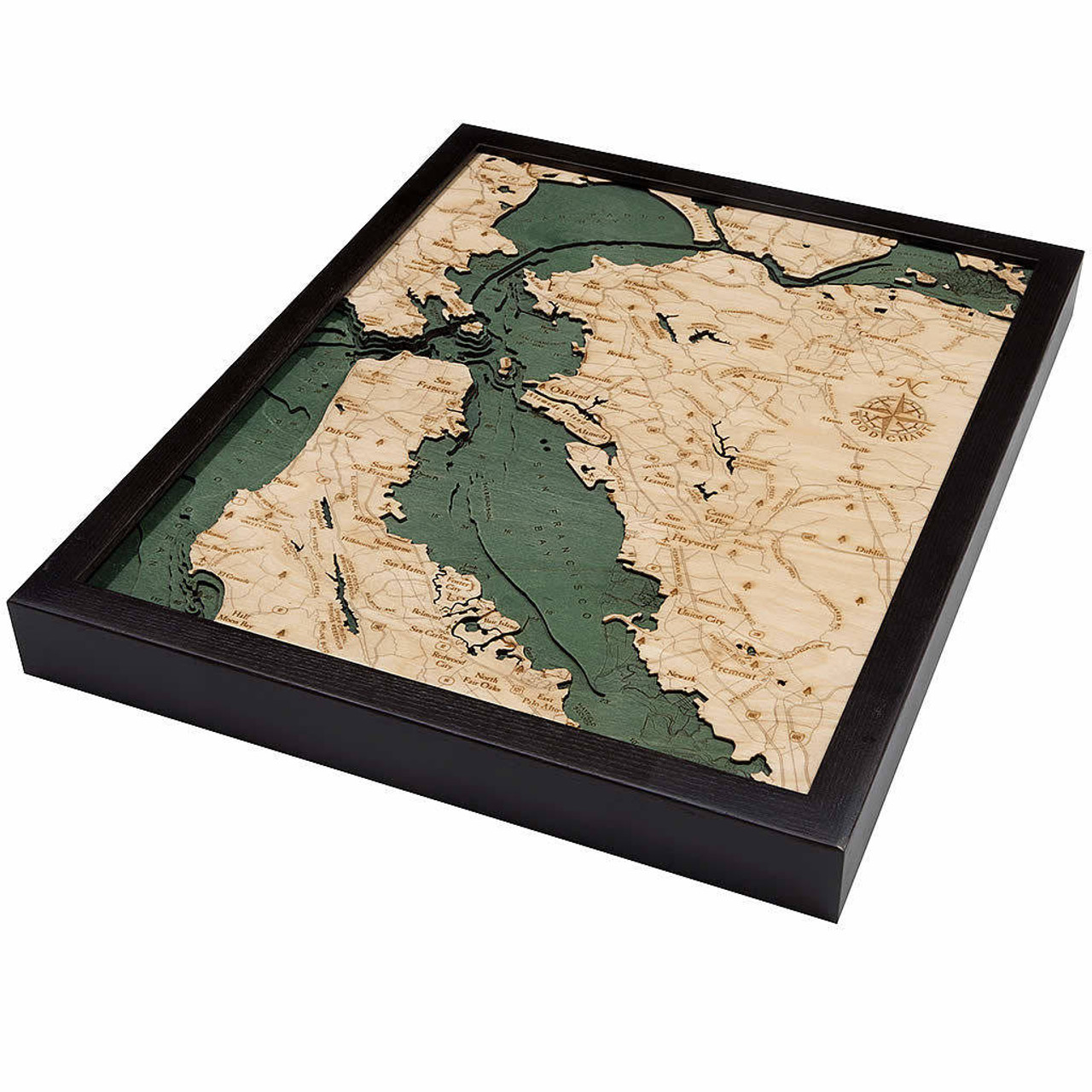 San Francisco Bay Area Small Nautical Wood Maps 3d Wall Decor This is the best video to get you familiar with the bay area map, the north bay cities, and all the affordable places to live near san francisco!#bayarea. san francisco bay area small