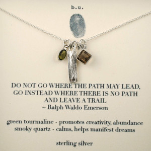 Inspirational Jewelry Quote Necklaces | Silver Sayings Pendants