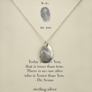 Inspirational Jewelry Quote Necklaces   Silver Sayings Pendants