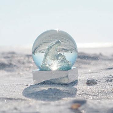 CoolSnowGlobes Coral Sea Snow Globe CS194-CSEA