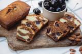 Almond Cherry & Chocolate Marble Cake