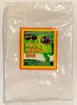 Kava Strainer Bag for making a perfect kava root drink