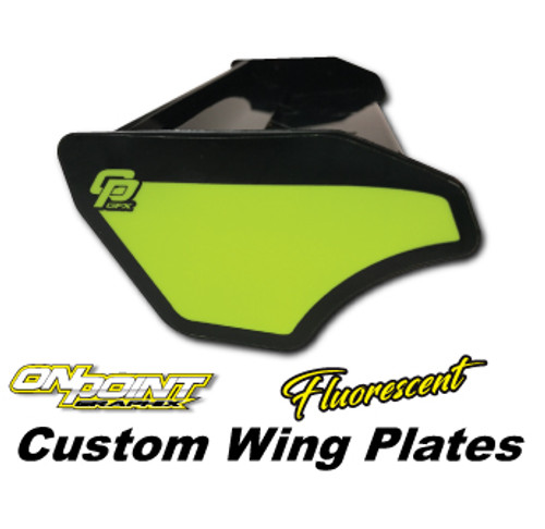 Custom Wing Plates-Fluorescent