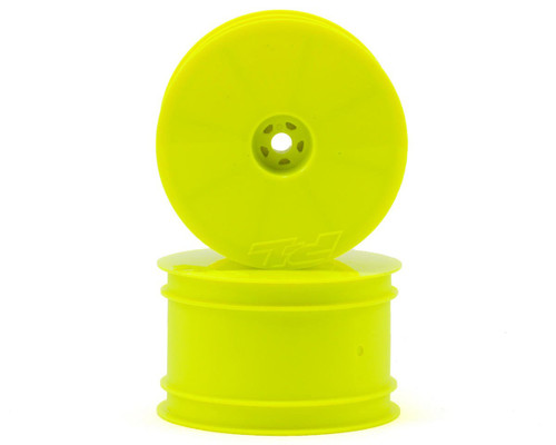 "Pro-Line Velocity 2.2"" Rear Wheels (2) (B6/22/RB6/ZX6) (Yellow) w/12mm Hex"