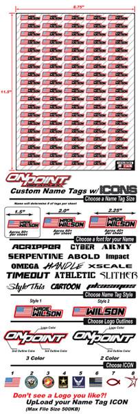 Name Tags w/ Icon