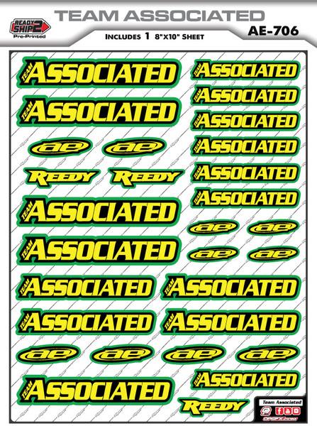 Team Associated Ready2Ship Stickers